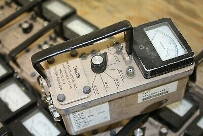 Ludlum Model 5-5 Survey Meter