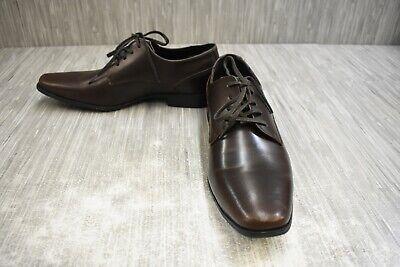 Calvin Klein Brodie Oxford Dress Shoes, Men's Size 8.5, Dark Brown