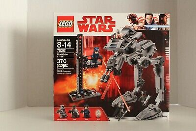 Lego Star Wars FIRST ORDER AT-ST 75201 4 Minifigures Captain Phasma BB-8 Finn