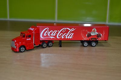 New Coca Cola TV Advert Christmas Truck Lorry Holidays Santa With Bottles HO 00