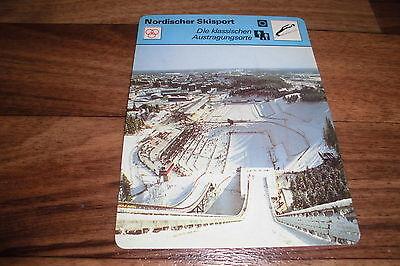 KLASS. AUSTRAGUNGSORTE Nordischer Skisport Editions Rencontre S.A. Lausanne 1977