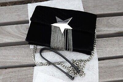 ZARA Women's Mini Shoulder Bag Black Suede - Strap - Excellent condition