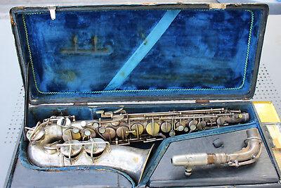 Alt Saxophon Johann Michl & Sohn Graslitz Sudetengau Kellerfund