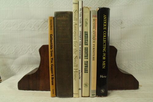 lot old  reference books Antique collecting for Men Oak Furniture tinware iron
