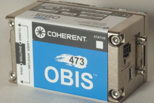 Coherent OBIS 473nm 75mW Solid State Diode Laser