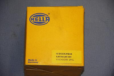Hella Steckdose 2 polig 8JB002281-001 Original Stecker