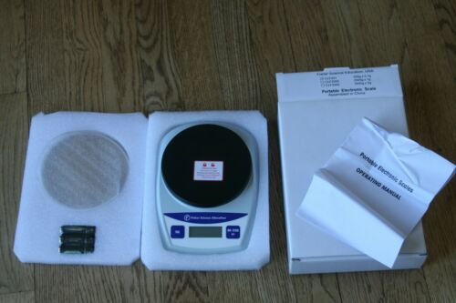 Fisher Science Education CLF201 Portable Electronic Scale Balance NEW