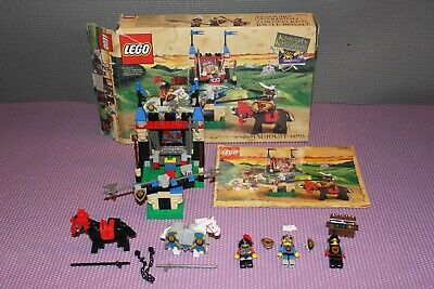 LEGO Castle 6095 Royal Joust, w/minifigs, box, manual, missing 3 accessories