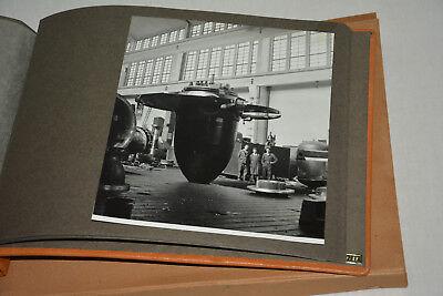Litostroj Foto Album Ljubljana Stahl Slovenija Maribor Jugoslavija Steel Comp.