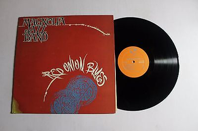 MAGNOLIA JAZZ BAND Red Onion Blues LP Stomp Off Rec. SOS-1016 US 1982 VG++ 00E