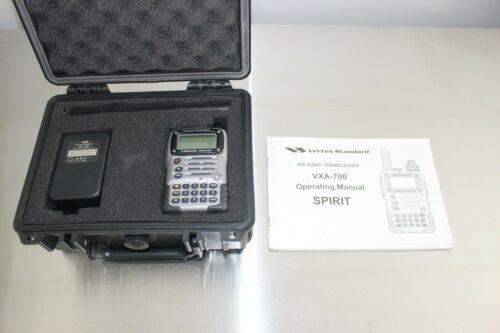Vertex Standard VXA-700 Spirit - Aviation Band Transceiver w/ 2M Band Capability
