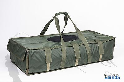 Karpfen Abhakmatte Carp Cradle 95 x 55 x 25 Soft PVC Material + Abdeckung Tasche