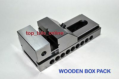 New 3 Screw Less Toolmakers Precision Tool Vise Perfect Right Angle Hard Grd