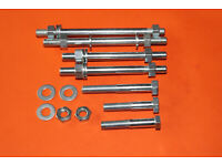 "Crankcase Stud 5//16/"" CEI X 5-1//8/"" Triumph 650 70-4856 UK Made case bolt"