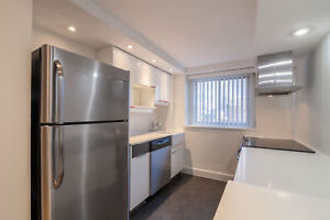 Downtown -Renovated 3 Bed 3 Bath -washer/dryer- McGill Concordia