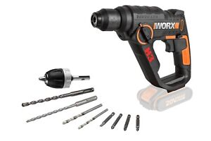 WORX WX390.9 3-in-1 H3 20V Rotary Hammer Drill - BODY ONLY