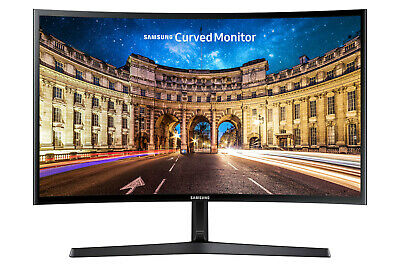 "NEW Samsung CF396 27"" Full HD Curved LED Monitor AMD FreeSync 60Hz 4ms HDMI VGA"