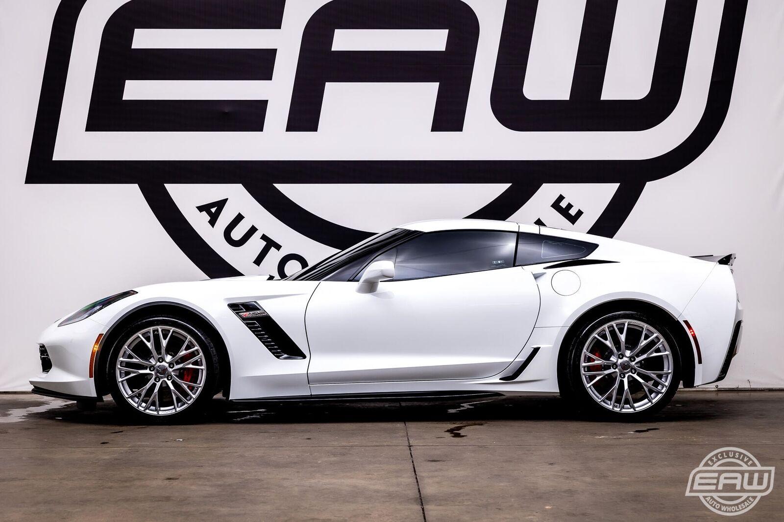 2019 White Chevrolet Corvette Z06 2LZ | C7 Corvette Photo 3