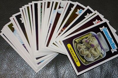 2013 GARBAGE PAIL KIDS CHROME SET COMPLETE 110 CARDS + LOST SET GPK & WRAPPER