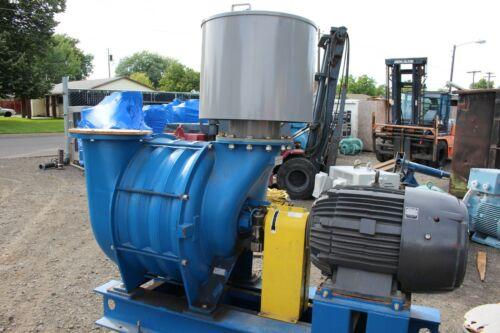 BOC Edwards HIBON 200-04C N° 04-9000016 Positive Displacement Blower w/ US Motor