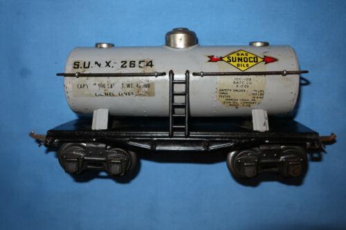 Lionel #2654 O-Gauge Sunoco Tank Car