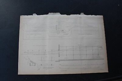 1872 Stich Bergbau / Siedehaus Lindig Saline Schönebeck