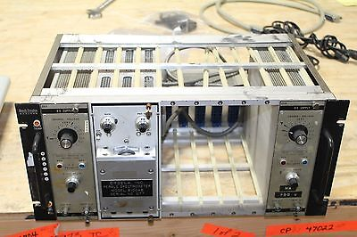 Mech-tronics Nuclear Nim Bin With 2 Hv Power Supply 253 Perals Spectrometer 8100