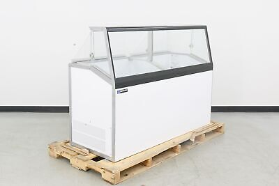 Master-bilt Dd-66l 12 Can Ice Cream Dipping Cabinet Scratch Dent