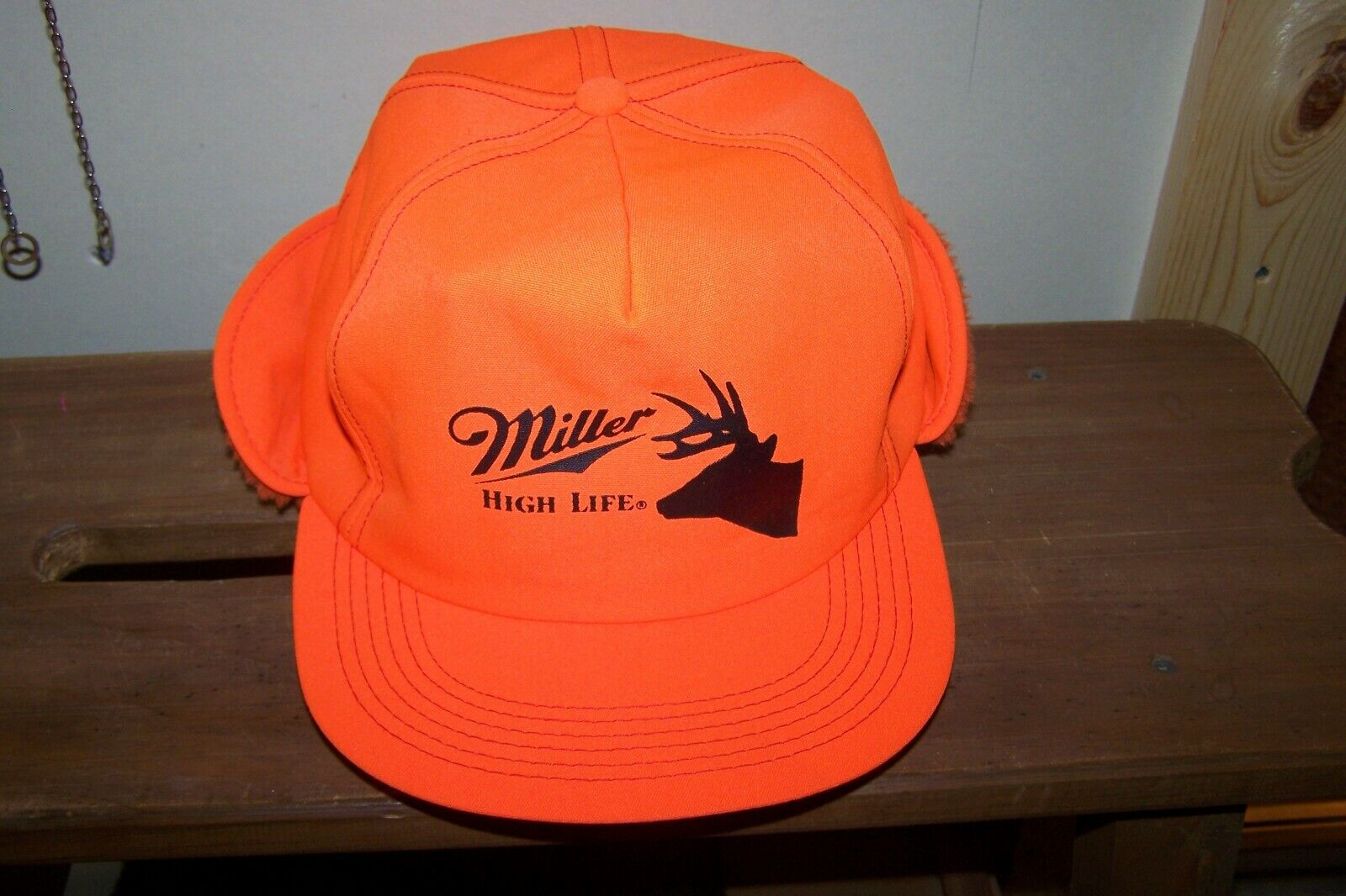 Vintage Miller High Life Hunting Cap. Circa 1990 s. Used / Decent. - $9.99