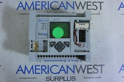 1763-l16awa Micrologix 1100 Allen Bradley Controller Ser B Rev B