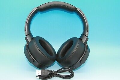 Sony MDR-XB950N1 Extra Bass Wireless Bluetooth Noise Cancelling Headphones BLACK