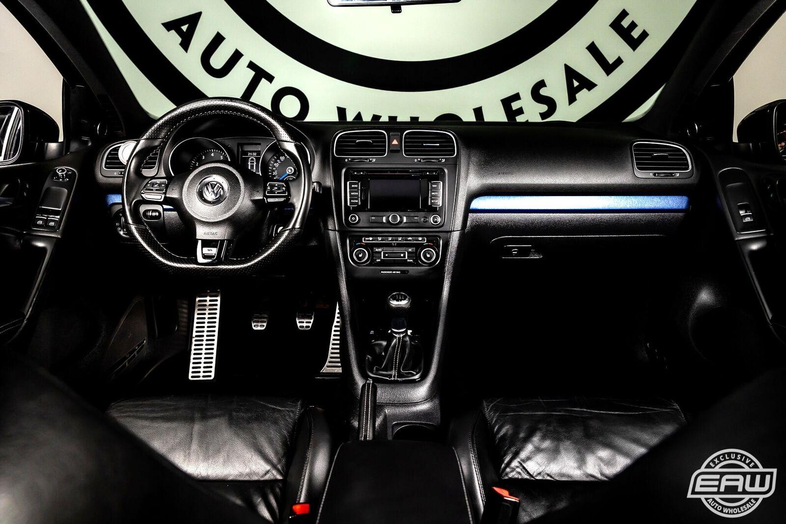 2012 Volkswagen Golf R 2dr HB w/Sunroof & Navi 95241 Miles Gray Hatchback 2.0L D