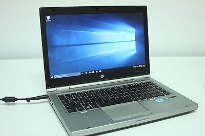HP LAPTOP ELITEBOOK 8470p READY INTEL i5/ 4GB /320GB /Win10 /Webcam /WiFi