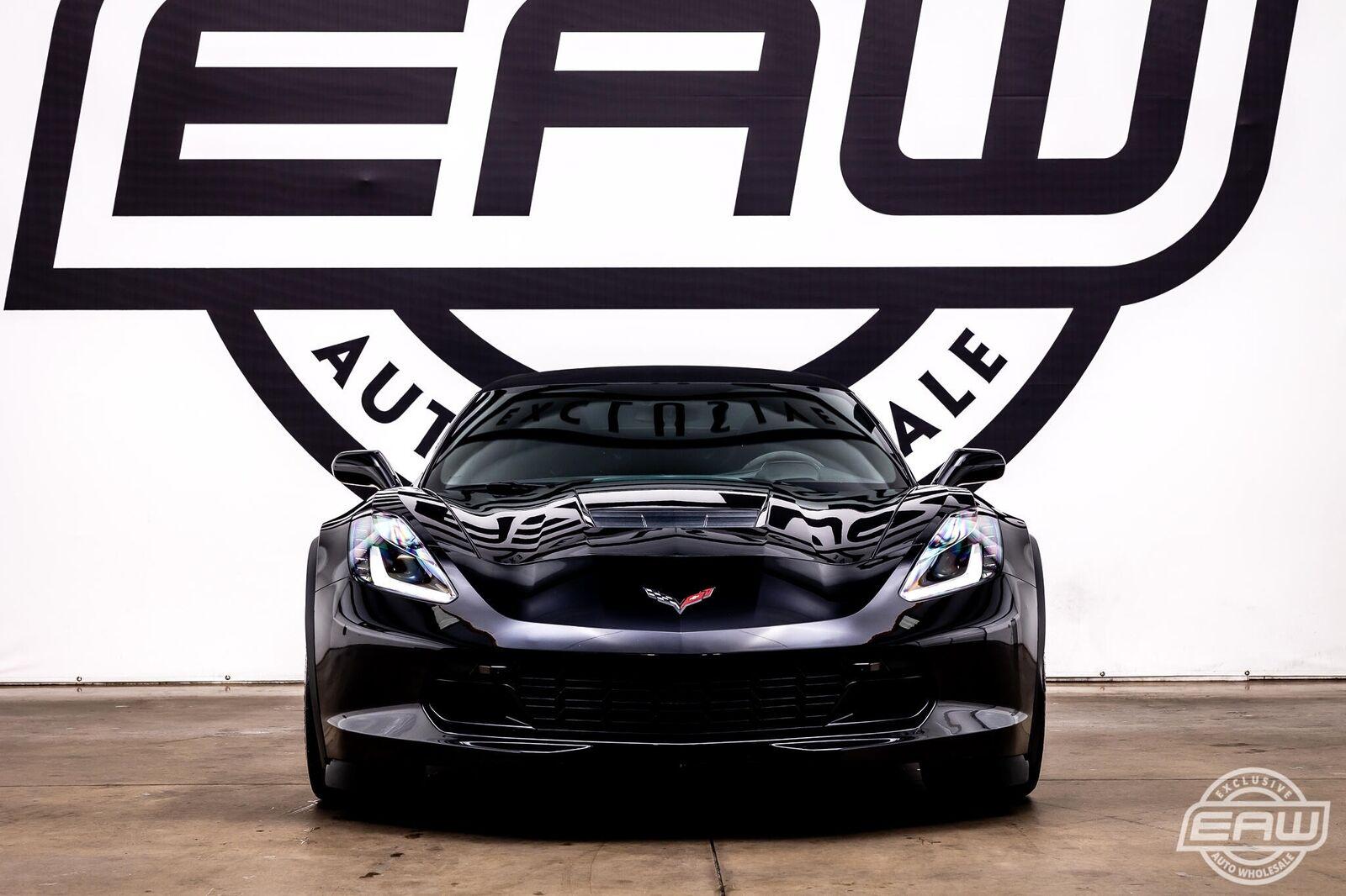 2019 Black Chevrolet Corvette Convertible 2LT | C7 Corvette Photo 5