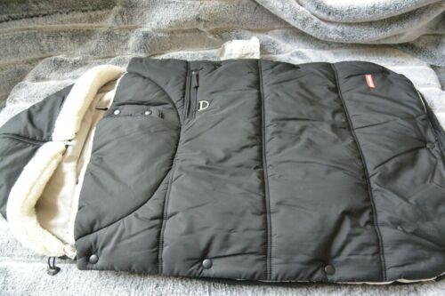 Skip Hop Stroll & Go 2-in-1 3-season stroller cover blanket footmuff black