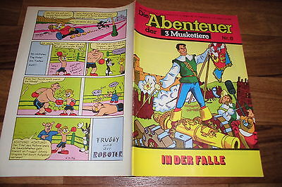 Helmut Nickel -- die ABENTEUER der 3 MUSKETIERE  # 8 / 1977