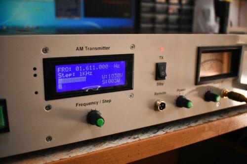 1000 Watt Max class D AM MW broadcast transmitter