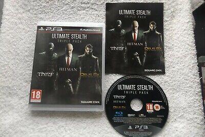 Usado, ULTIMATE STEALTH TRIPLE PACK PS3 V.G.C. ( thief, hitman absolution & deus ex ) comprar usado  Enviando para Brazil