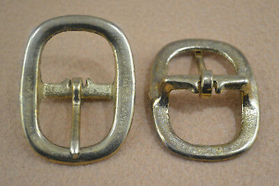 "Buckle, Halter - 1"" - Antique Brass Plated - Set of 30 (B138)"