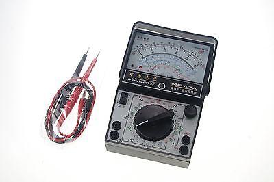 Volt Ohm Amp Ac Dc Battery Tester Meter Gauge Analog Multimeter