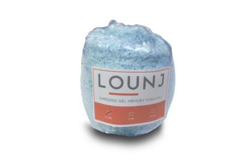 Lounj Shredded Gel Memory Foam Fill Cushions Crafts Bean Bags Pillows Pet Beds