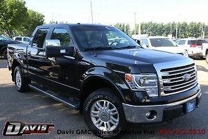 2013 Ford F-150 Lariat Leather, Navigation, Sunroof & Box Cover!