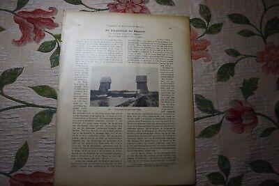 1920 ...Bauwesen 273 MittellandKanal Lohnde Brink Hannover Podbi Misburg Linden