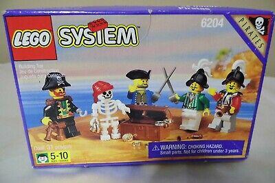 Vintage Lego Set 6204 Buccaneers 31 Pieces FACTORY SEALED