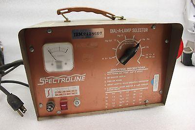 Spectroline Dial-a-lamp Selector Model 1500 Mb46