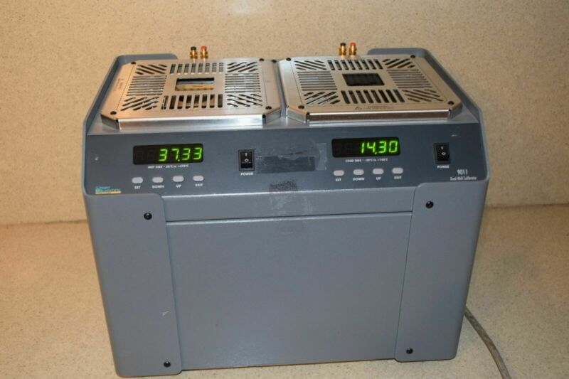 HART SCIENTIFIC / FLUKE 9011 -30 C to 670 C High Accuracy Dual-Well Calibrator