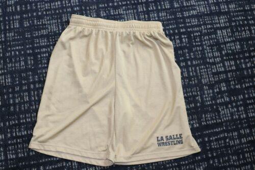 LA SALLE University Wrestling mesh Shorts Size large practice  School Team Gear
