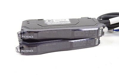 2x Keyence Fiber Optic Sensor Amplifier Fs-n18n