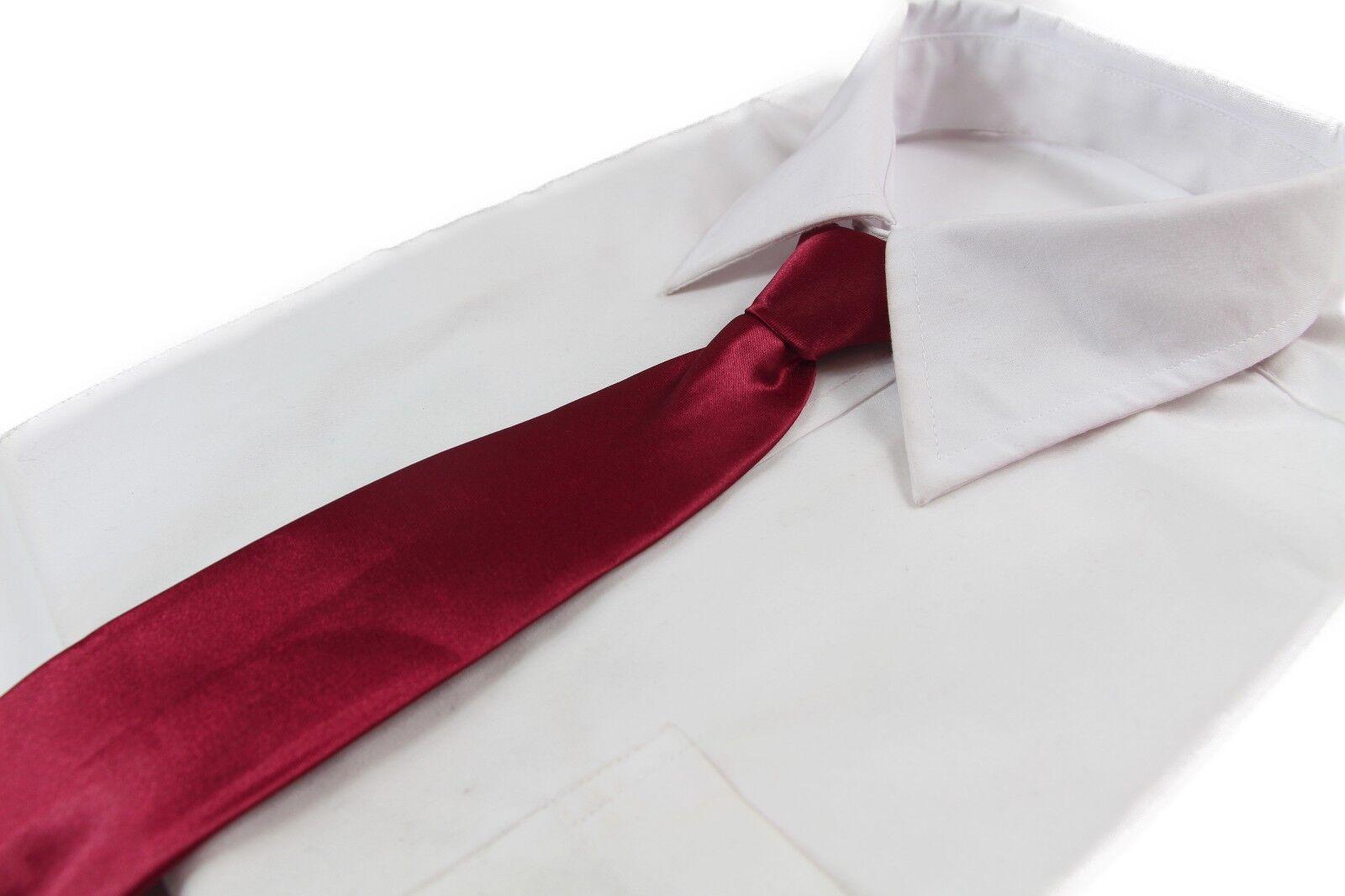 *CHEAP* MAROON RED TIE Boys Kids Baby Toddler School Ties FORMAL WEDDING SALE