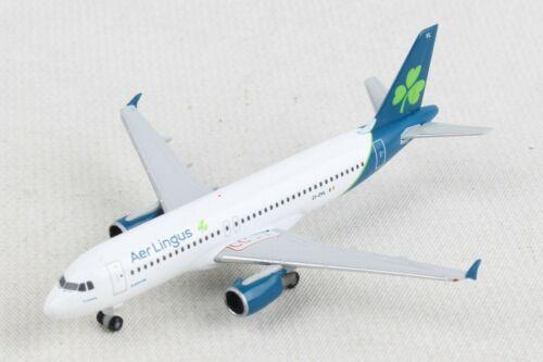 """Herpa Wings 533690 Aer Lingus Airbus A320 Reg#El-DVL """"St. Moling"""" 1/500. New"""